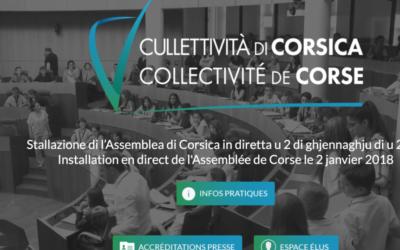 UN NOUVEAU SITE WEB POUR LA COLLECTIVITÉ DE CORSE