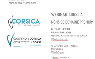 Webinar sur l'ouverture des domaines PREMIUM – 19/09/2019