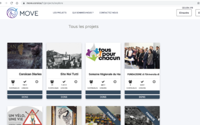 MOVE, la plateforme de financement participatif est en .corsica