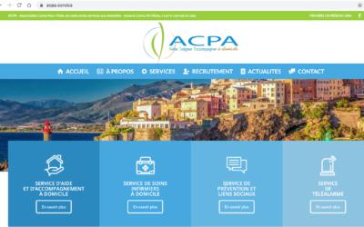 L'Association Corse Pour l'Aide, les soins et les services aux domiciles est en .corsica