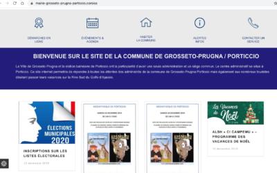 La commune de GROSSETO-PRUGNA / PORTICCIO est en .CORSICA