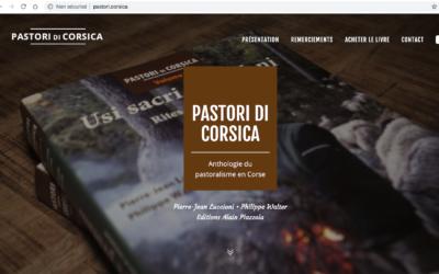 Le livre dédié au pastoralisme en Corse a son site web en .CORSICA