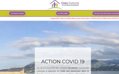 Casacumuna met en relation bénévoles et demandeurs