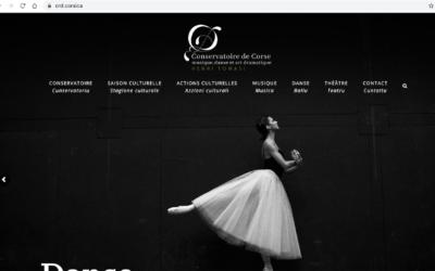 CRD.CORSICA le site du Conservatoire de Musique, Danse et Art dramatique de Corse Henri Tomasi